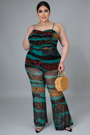 Come To The Wild Side Jumpsuit