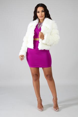 Moma Fuzzy Jacket