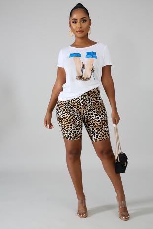 Cheetah Heels Set