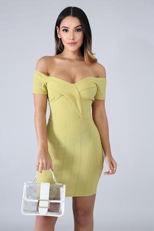 Pines Body-Con Dress
