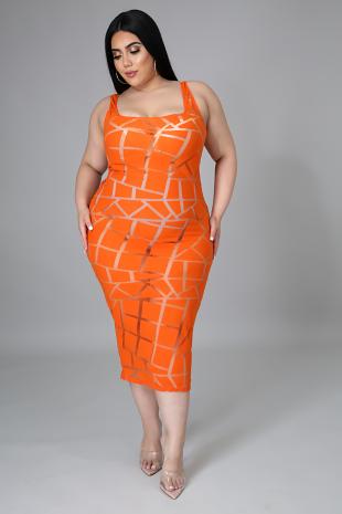 Foxy Roxy Dress