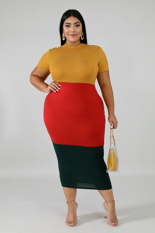 Fall Bodycon Dress