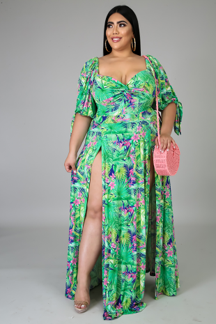 Deep in the Woods Maxi Dress